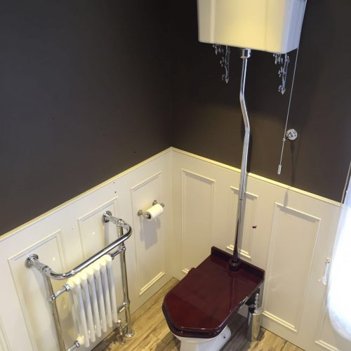 Toilet and Towel Rail Installation – Hove