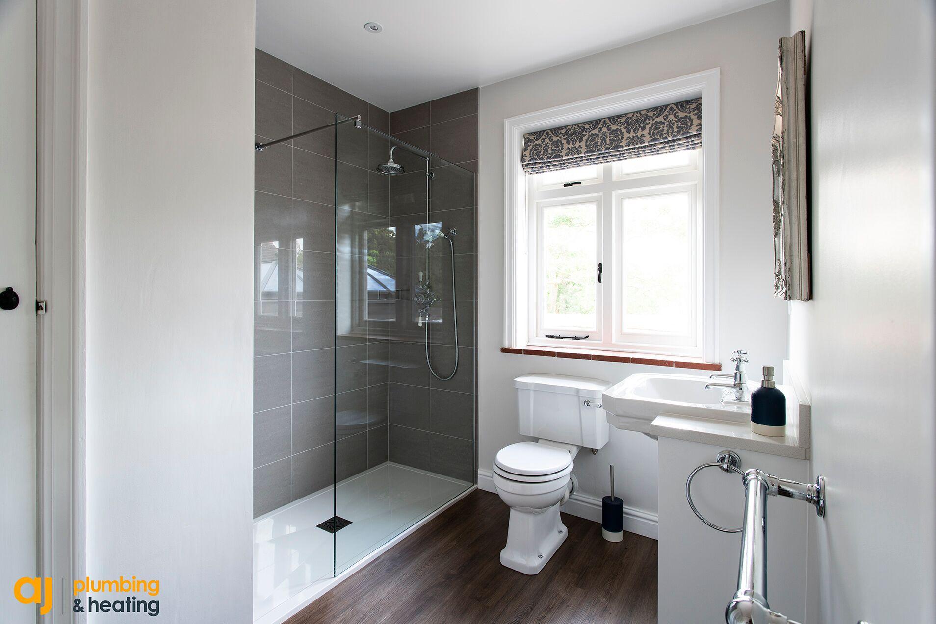wholesale dealer 4346d 74a3e Shower Room Installation - Cuckfield - AJ Plumbing